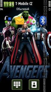 The Avengers Hd tema screenshot