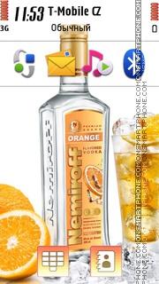 Скриншот темы Vodka Nemiroff 01