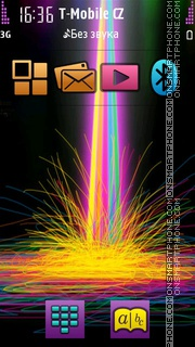 Colorful Abstract 05 theme screenshot