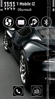 Bentely S60v5 theme screenshot