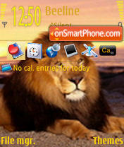 Lion 03 theme screenshot