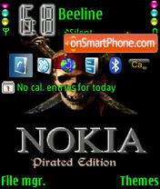 Nokia Edition es el tema de pantalla