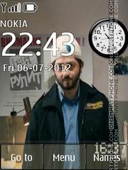 Borodach Clock theme screenshot