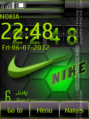 Nike 09 theme screenshot