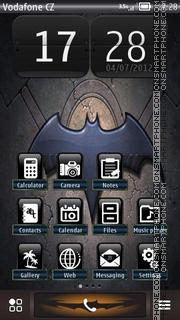 The Dark 01 theme screenshot