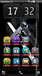 Weapon 01 theme screenshot