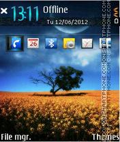 Horizont tema screenshot