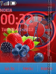 Berries tema screenshot