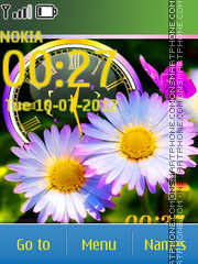 Camomiles theme screenshot