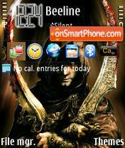 Скриншот темы Prince of Persia 05
