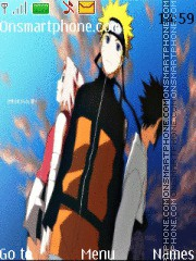 Naruto Team 7 Shippuden tema screenshot