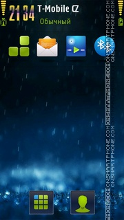 Drops S60v5 tema screenshot