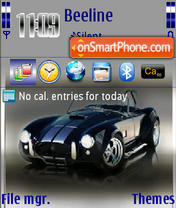AC Cobra 01 theme screenshot