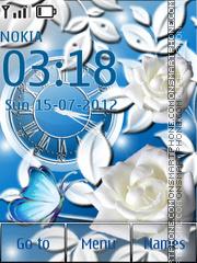 White Roses theme screenshot