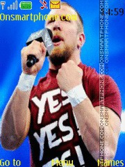 WWE Daniel Bryan YES theme screenshot