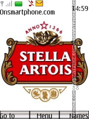 Stella Artois 01 theme screenshot