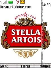 Скриншот темы Stella Artois 01