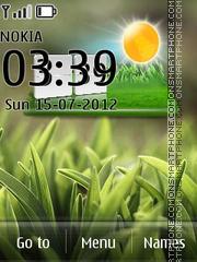 Grass 04 theme screenshot