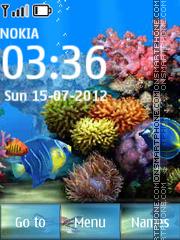 Aquarium 10 theme screenshot
