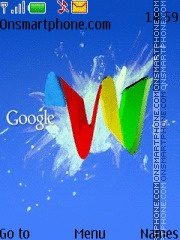 Google 08 theme screenshot