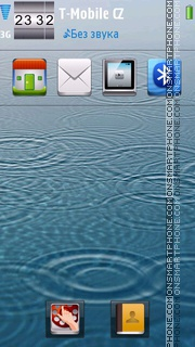 Iphone Style 02 tema screenshot