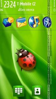 Green Summer s60v5 tema screenshot