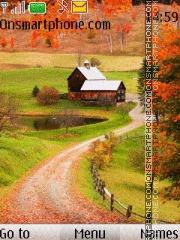 Beauty Nature In Village theme screenshot