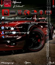 Red Ford Mustang es el tema de pantalla