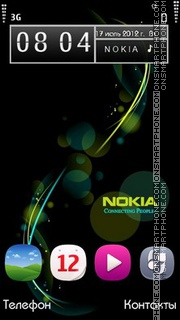 Nokia v2 theme screenshot