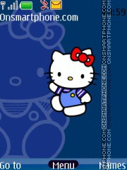 Hello kitty tema screenshot