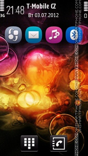 Euphoria tema screenshot