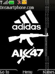 Adidas Ak-47 theme screenshot