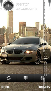 BMW 645i theme screenshot
