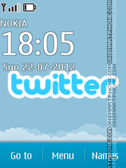 Twitter 02 theme screenshot