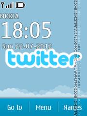 Twitter 02 es el tema de pantalla