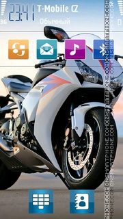 Superbike 01 theme screenshot