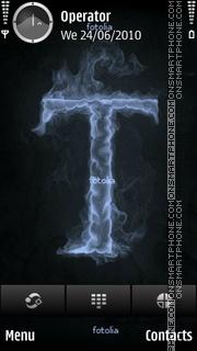 T Flame theme screenshot