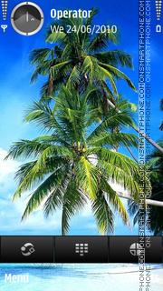 Tropic es el tema de pantalla