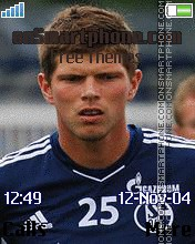 Klaas Jan Huntelaar theme screenshot
