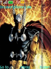 Beta Ray Bill Comic es el tema de pantalla