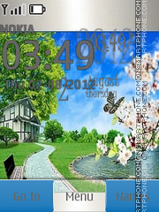 Capture d'écran Nature thème
