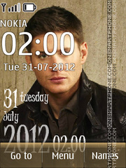 Jensen Ackles Theme-Screenshot