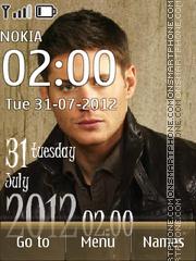 Скриншот темы Jensen Ackles