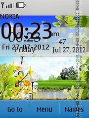 Capture d'écran Summer Landscape thème