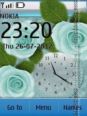 Capture d'écran Sweet Rose thème