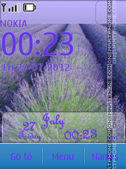 Lavender theme screenshot