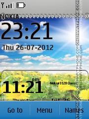 Yellow Flowers es el tema de pantalla