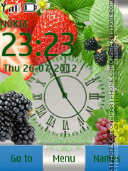 Скриншот темы Fruit Feast