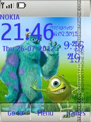 Monsters. Inc. es el tema de pantalla