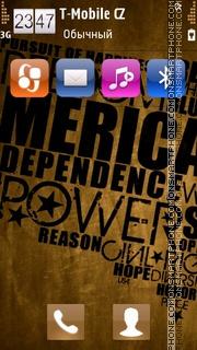 Typography theme screenshot